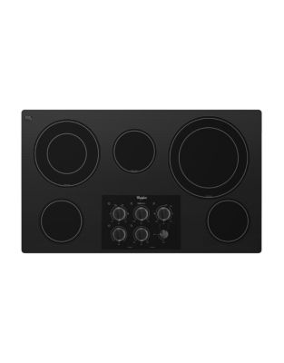 G7CE3635XB 36-inch Electric Ceramic Glass Cooktop with Easy-Wipe Ceramic Glass Cooktop Black photo