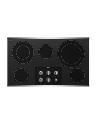 G7CE3635XS 36-inch Electric Ceramic Glass Cooktop with Easy-Wipe Ceramic Glass- Stainless Steel photo