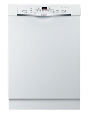 SHE3AR72UC 24-inch Built-In Dishwasher with Recessed Handle - White photo
