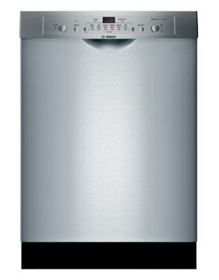 SHE3AR75UC 24-inch Built-In Dishwasher with Recessed Handle - Stainless Steel photo