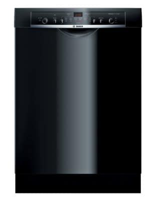 SHE3AR76UC 24-inch Built-In Dishwasher with Recessed Handle - Black photo