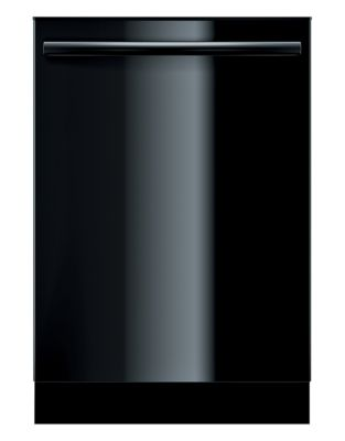 Ascenta 24 Inch Bar Handle Dishwasher Black photo
