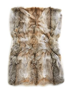 c11c585d2d2 Hudson s Bay Company - HBC x Caroline Furs Coyote Fur Throw - thebay.com