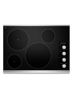 4 Element Electric Cooktop photo