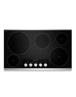 KECC664BSS 36-Inch Electric Cooktop with 5 Radiant Elements in Stainless Steel photo