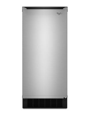 GI15NDXZS - 15-inch Ice Maker with Reversible Door - Stainless Steel photo