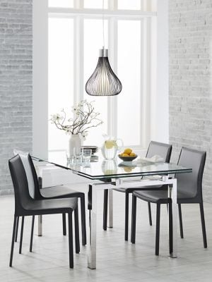 778e8fb81fd89 Cantro Dining Table with Extension Leaf