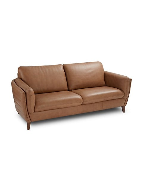 Natuzzi Editions Palermo Leather Sofa