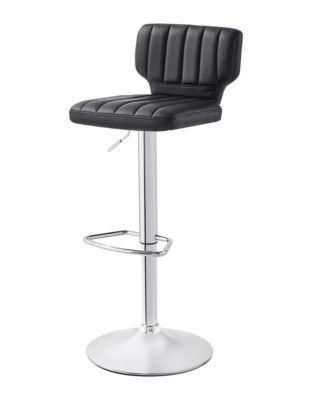 Wondrous Distinctly Home Alina Gas Lift Bar Stool Thebay Com Andrewgaddart Wooden Chair Designs For Living Room Andrewgaddartcom