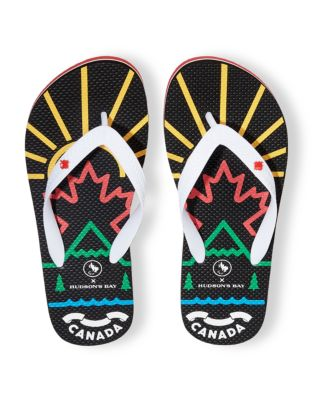 a9bb2d37ac839 QUICK VIEW. Canadian Paralympic Team Collection. Mens Flip Flops