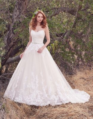 ecb76054be5 QUICK VIEW. Maggie Sottero. Irma Strapless Tulle Ballgown