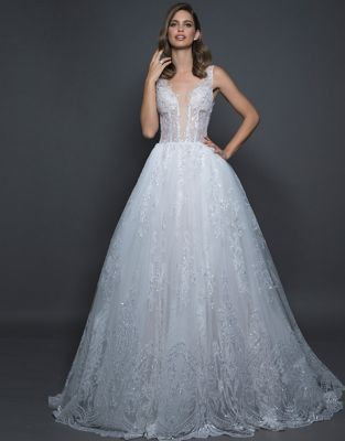 188b4198ee5 QUICK VIEW. Love by Pnina Tornai. Sheer Corset Tulle Ball Gown