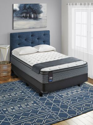 Sealy Posturepedic 20th Anniversary Euro Top Cushion Firm Mattress Set
