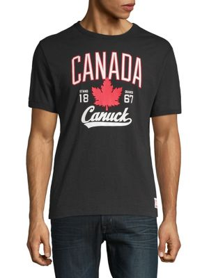 83b559eff1e QUICK VIEW. Canadian Olympic Team Collection. Cotton Graphic Tee