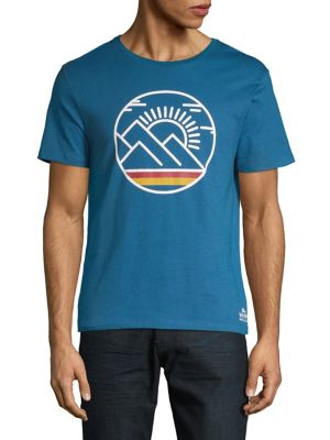 cf49c6271fd6a QUICK VIEW. Grand Portage. Cotton Mountain Sun Graphic Tee