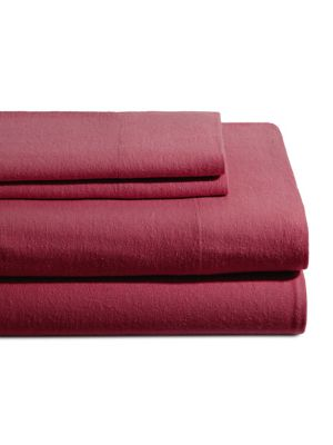 UPC 600090885695 product image for Flannel 4-Piece Sheet Set | upcitemdb.com