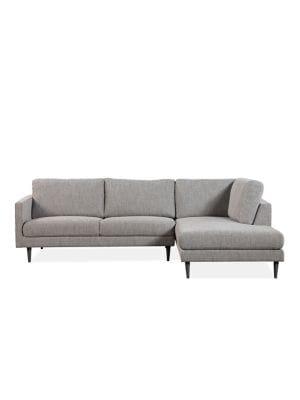 Enjoyable Distinctly Home Newton Sectional Sofa With Chaise Thebay Com Machost Co Dining Chair Design Ideas Machostcouk