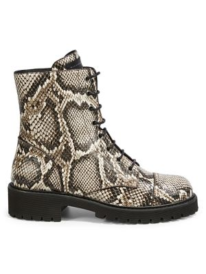 1f6522681f QUICK VIEW. Giuseppe Zanotti. Snakeskin-Embossed Leather Boots