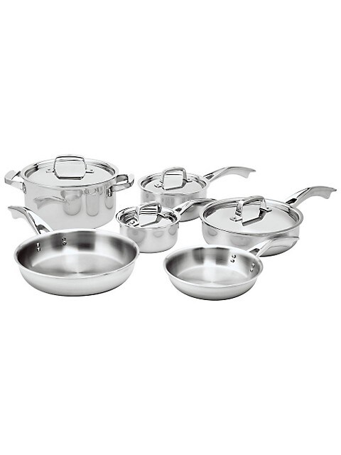 Zwilling Truclad 10-Piece Cookware Set - Induction Ready