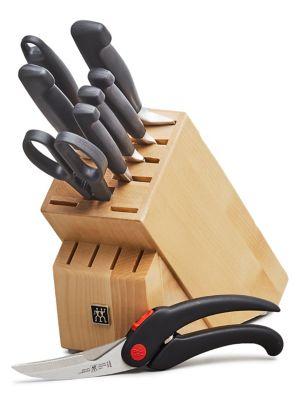 Zwilling Four Star 8-Piece Knife Block with BONUS Shears