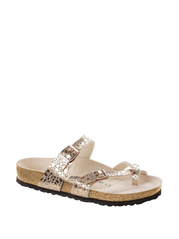 Mayari Metallic Sandals by Birkenstock