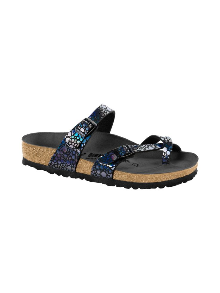 Mayari Metatllic Stones Sandals by Birkenstock