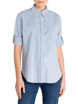a5ce44bf9c3a QUICK VIEW. Olsen. Colour Love Stripe Shirt. $149.00 Now $111.75 · Collared  Short-Sleeve Shirt NEW IVORY. QUICK VIEW