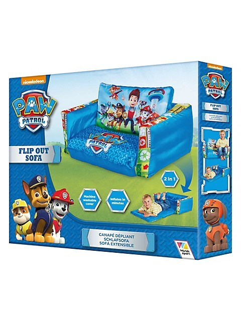 Paw Patrol Inflatable Flip Out Sofa