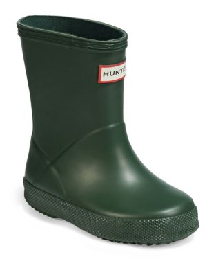 648a45c52d696 Product image. QUICK VIEW. Hunter. Kid s First Classic Rain Boots