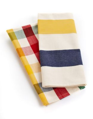 HBC Stripes Tea Towel Two-Piece Set
