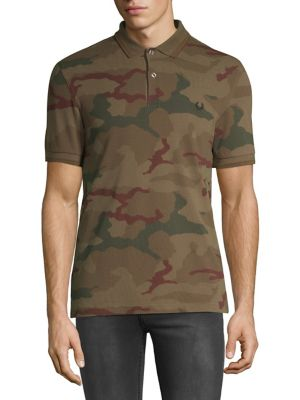 29b486ba QUICK VIEW. Fred Perry. Camouflage Cotton Polo
