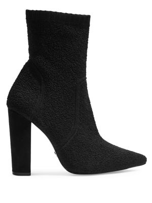 Esme Stretch Heeled Booties by Topshop