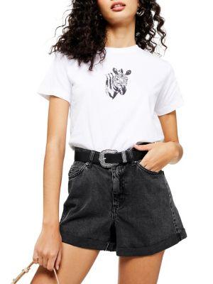 8aa6c282e9fbaa TOPSHOP   Women - Women's Clothing - Tops - T-Shirts & Knits ...