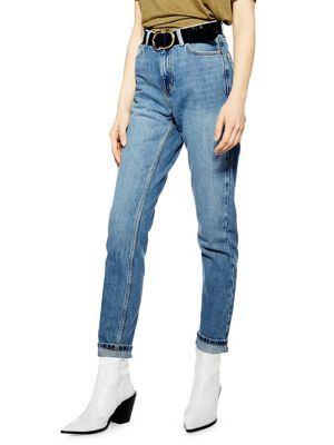 f424e5adf9 High Rise Mom Jeans 34-Inch Leg MID DENIM. QUICK VIEW. Product image