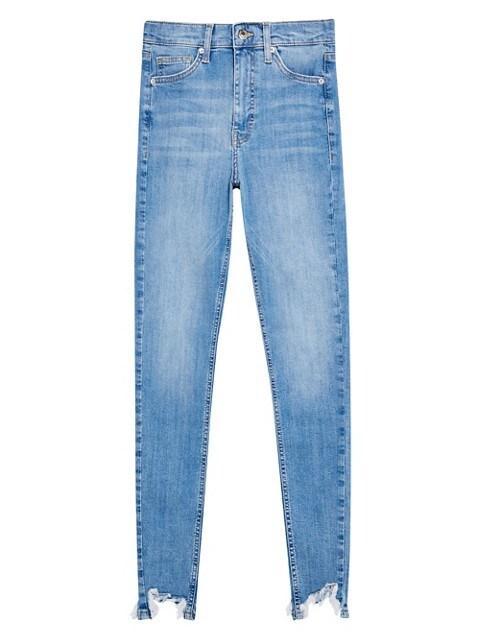TOPSHOP Tailles longues - Jean Jamie, 91 cm NOIR