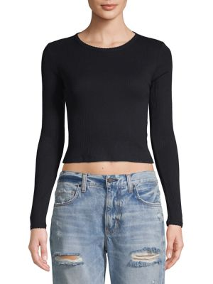 ad244bb8b07 Oversized Boxy T-Shirt.  20.00 · Cropped Scallop Top BLACK. QUICK VIEW.  Product image