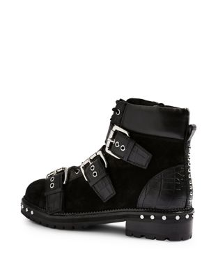 Animal Hiker Boots by Topshop