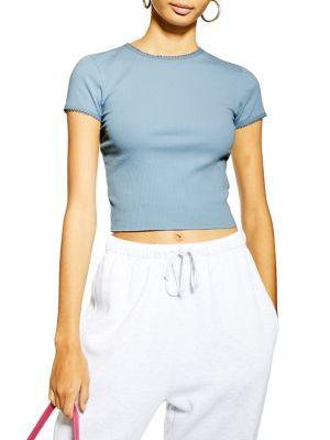 ea42c320c TOPSHOP | Women - Women's Clothing - Tops - T-Shirts & Knits ...