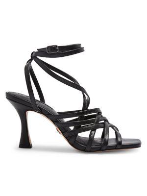 c4a0de9b6 Rhapsody Strappy Leather Sandals BLACK. QUICK VIEW. Product image