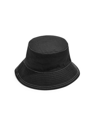 56d12931 Topstitch Bucket Hat BLACK. QUICK VIEW. Product image