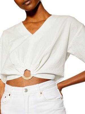 dde7e7bbf4f641 TOPSHOP | Women - Women's Clothing - Tops - Blouses - thebay.com