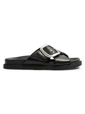 1ab7e518f Product image. QUICK VIEW. TOPSHOP. Romeo Buckle Strap Slides. $48.00 ·  Reggie Faux Leather Platform Sandals BLACK