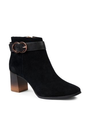 2585c5d80 Amaedi Leather Kitten Heel Ankle Boots. NOW.  280.00. Ainthe Suede Block Heel  Boots. Ted Baker London