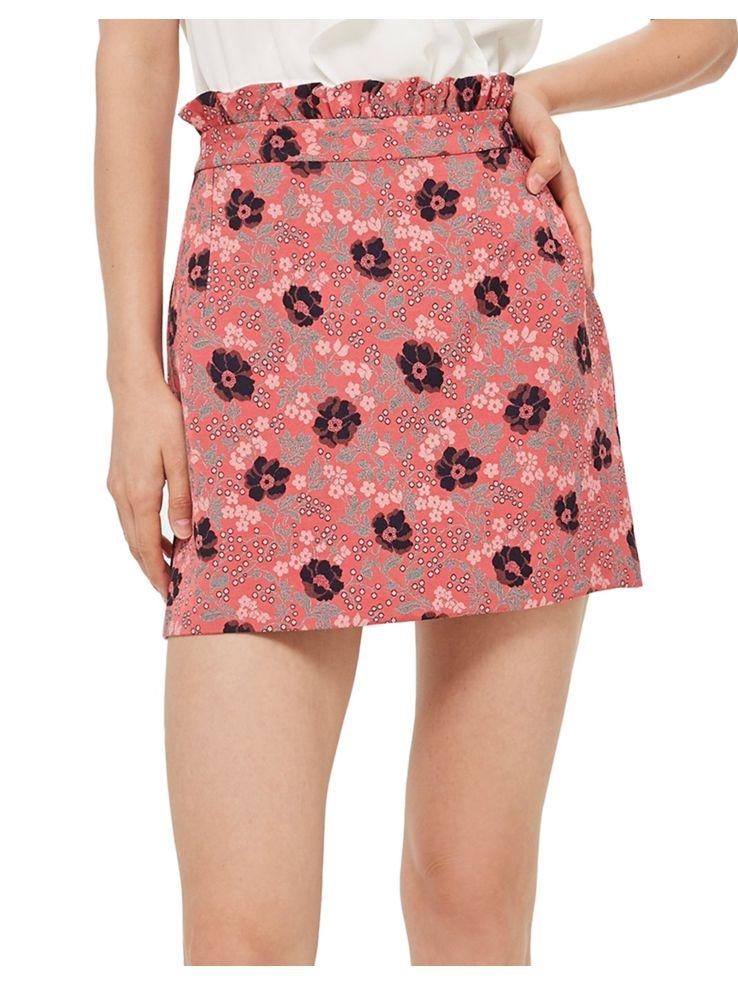 24736b238be444 TOPSHOP - PETITE Poppy Jacquard Skirt - thebay.com