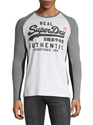 1177b3ab4fa23 QUICK VIEW. Superdry. Cotton Long-Sleeve Raglan Tee