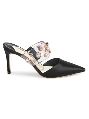 5f6ae31b7 QUICK VIEW. Sophia Webster. Dina Embellished Mid Mules