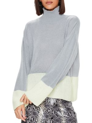 fc8692eeed QUICK VIEW. Missguided. Colourblock Knitted Sweater