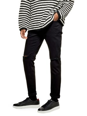 fecd5c25cff60 Ripped Skinny Fit Jeans BLACK. QUICK VIEW. Product image