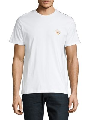 c62adfd0 QUICK VIEW. TOPMAN. Hills Taped Embroidered T-Shirt. $39.00 Now $11.70