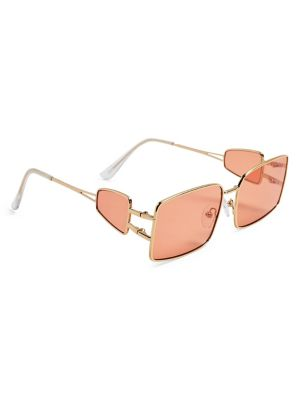 e0e1b845882f Goldtone Metal Rectangular Sunglasses GOLD. QUICK VIEW. Product image